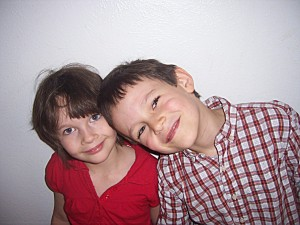 10-18-09 Sam and Halle